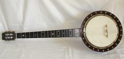 Rare Antique Douglas & Co London Zither Banjo Circa 1900