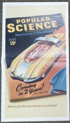 2003 Infinity G35 & 1959 Cadillac Cyclone Concept Brochure Poster wz3136