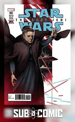STAR WARS LAST JEDI ADAPTATION #2 (MARVEL 2018 1st Print) COMIC