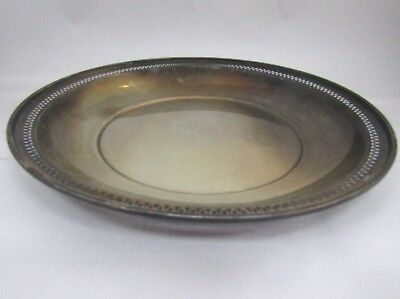 ALVIN Sterling Silver  11 Inches Round  Plate 344 Grams