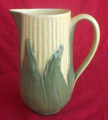 "Vintage 1946-1954 Shawnee Corn King #71 Ceramic 40 oz. 8 1/4"" Pitcher - NR"