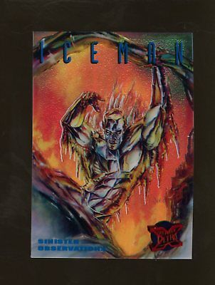 1995 Fleer Ultra X-Men S&G Promo Iceman RARE!