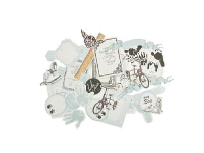 *A&B* KAISERCRAFT Scrapbooking Collectables Pitter Patter - Boys - CT799