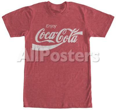 Coca-Cola- Eighties Coke Apparel T-Shirt - Red Htr