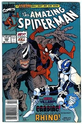 Amazing Spider-Man #344 Newsstand Ed (1991) F/VF New Collection 1st Carnage