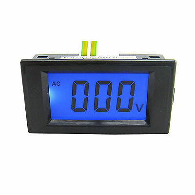 US Stock LCD Volt Meter AC 80-500V For 110V AC Power Doesn't Require A Power