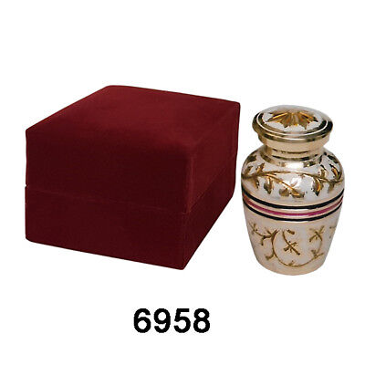 Mini Cremation Urn Token Ashes Urn Keepsake Funeral Ashes Urn     (6958)