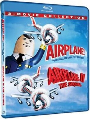Airplane 1 + Airplane II The Sequel 2-Movie Collection Airplane 2  New Blu-ray