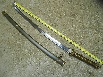 Nice WW2 Japanese Sword, Gunto, Signed and Dated, Gendaito