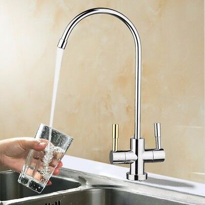 Chrome Kitchen Drinking Water Filter Sink Faucet Reverse Osmosis Ro