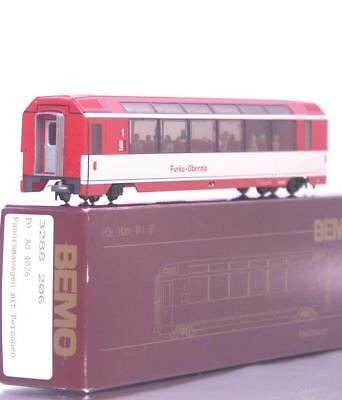 MINT BEMO 3288 206 HOm - SWISS FO RED PANORAMA COACH with PASSENGERS AS 4026