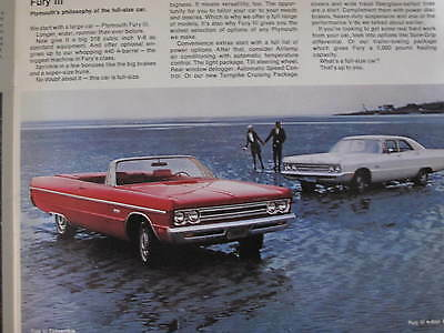 1969 Plymouth Full Line Sales Brochure C5853