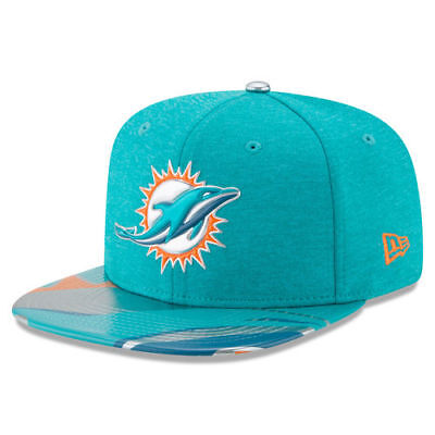 finest selection cbfae d0c08 Miami Dolphins New Era 2017 NFL Draft On Stage Original Fit 9FIFTY Snapback
