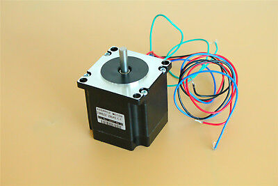 Nema 23 Stepper Motor 6.35mm Shaft 179oz.in(1.26Nm) 2.5V 1.8° For CNC 3D Printer