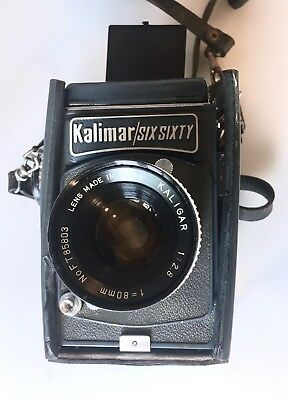 Vintage Kalimar Six Sixty Camera with Kaligar Lens 1:2.8 and 80mm Made in Japan
