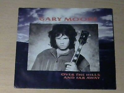 """7"""" GARY MOORE * Over The Hills And Far Away (MINT-) HARD ROCK"""