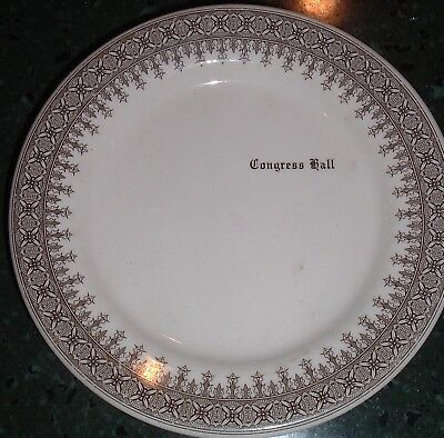 Vintage Side Bread Butter Plate CONGRESS HALL ( Hotel ) Cape May New Jersey