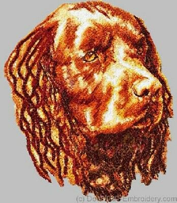 Embroidered Short-Sleeved T-Shirt - American Water Spaniel DLE1468