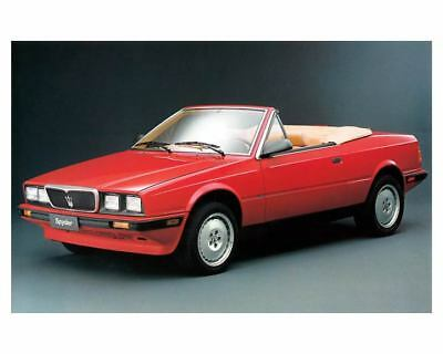 1991 Maserati Spyder Factory Photo m2222-11697V