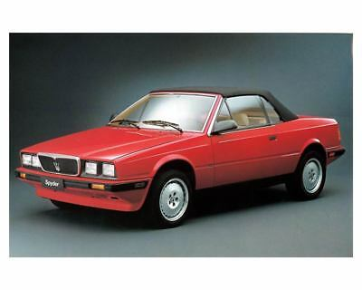1991 Maserati Spyder Factory Photo m2227-DHQ1NI