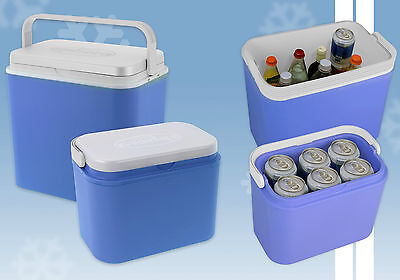 Large 24L Cool Box and/or Small 10L Cool Box Ice Packs Picnics Festivals Beach