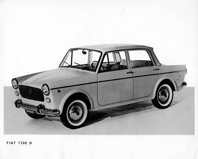 1965 Fiat 1100D Sedan Factory Photo Floyd Clymer m2416-URKVUM
