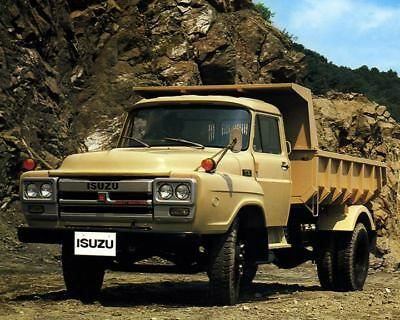 1980 Isuzu Normal Control Dump Truck Factory Photo m2425-FU5FPG