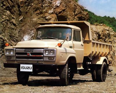 1985 Isuzu TX Truck Factory Photo m2474-5CFNPL