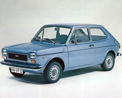 1977 Fiat 127 Luxus Factory Photo m2566-67LZPZ