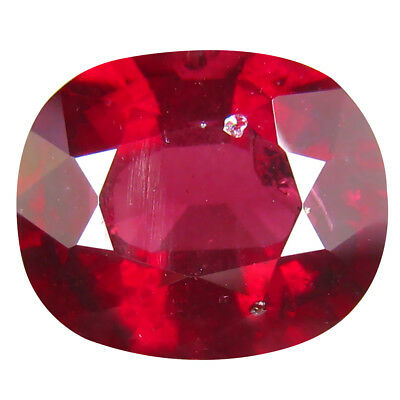 6.04 ct AAA Oval (12x10 mm) Pinkish Red Rhodolite Garnet Natural Loose Gemstone