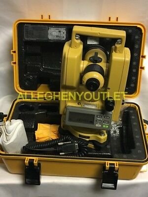 Topcon DT-102 Electronic Theodolite W/ Case and Accessories LIKE NEW