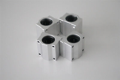 4PC Linear Ball Bearing SCS10UU 10mm Unit for CNC Pillow Block Linear Slides CZ
