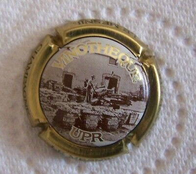 capsule de champagne UPR vinotheque NR