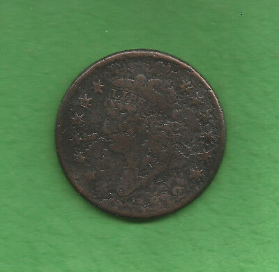 1812 Classic Head, Large Cent - 206 Years Old!!!