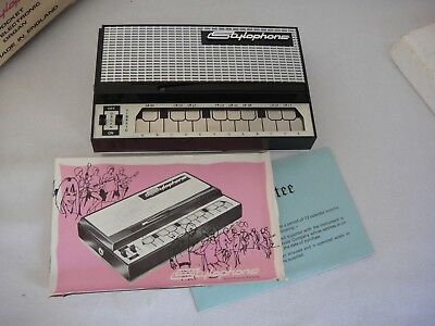 Lovely Vintage STYLOPHONE - The Original Pocket Electronic Organ - Boxed