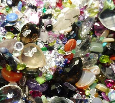 50cts Mixed Chipped, Abraided and Rejection Gems - $0.99 No Reserve Auction