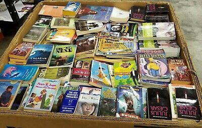 1 Pallet Of Unsearched Used Paperback Books Wholesale