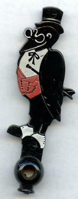 Vintage Old Crow Bourbon Whiskey Original 1940s Rotary Phone Dialer Key Chain