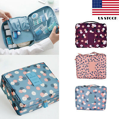 Hot Make Up Expandable Travel Hanging Wash Bag Toiletry Organizer Lady Pouch US