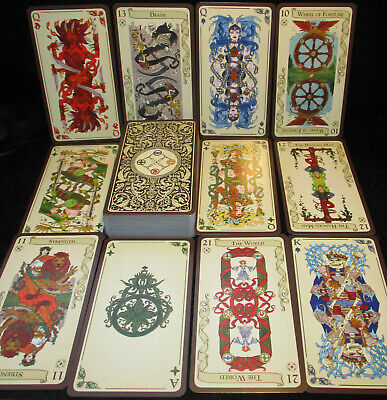 New! Unique Tarot Of Loka ~ A Medievel Family Card Game From France Open For Pic