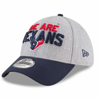 82bcae4e361 Houston Texans New Era Youth 2018 NFL Draft Official On-Stage 39THIRTY Flex  Hat