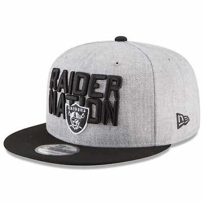 Oakland Raiders New Era Youth 2018 NFL Draft Official On-Stage 9FIFTY  Snapback 8fd7a2d51ee5