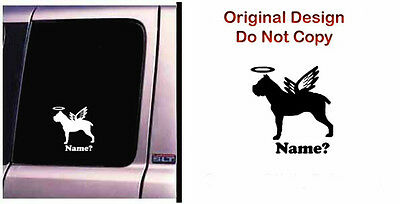 Dog Memorial Cane Corso Halo  Angel Vinyl Decal Sticker