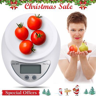 Digital Kitchen Scale 1-5000 g Diet Food Compact Kitchen Scale 0.1 – 176 oz