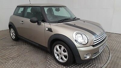 2008 Mini One Silver 1.4 Petrol 6 Speed Manual Hatchback