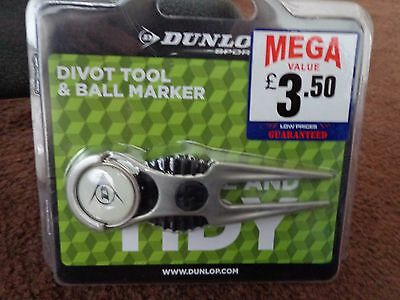 divot tool and ball marker dunlop , new in pack L@@K