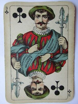 Dondorf. Antikes Kartenspiel. Great antique playing cards.Germany.Nice tax stamp
