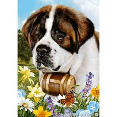 Garden Indoor/Outdoor Summer Flag - Saint Bernard 180581