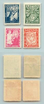 Latvia 1932 SC B92-B95 mint . rta8549