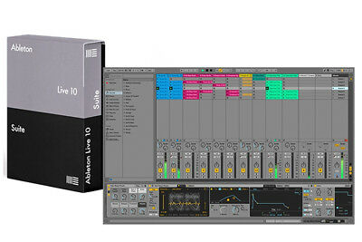 Ableton Live 10 Suite DAW Recording Software Unlimited Tracks & Scenes